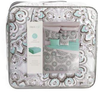 5pc Malia Medallion Comforter Set