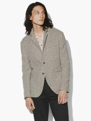 John Varvatos Easy Fit Button Front Closure Jacket
