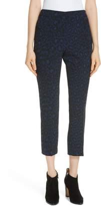Kate Spade leopard print crop pants