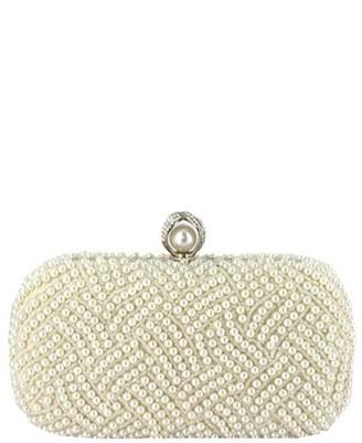 Menbur 'Pearl' Minaudiere $175 thestylecure.com