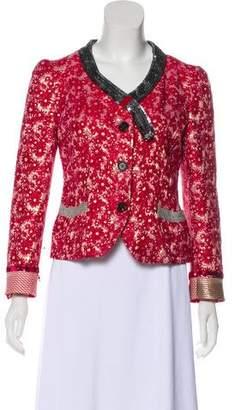 Marc Jacobs Brocade Floral Blazer