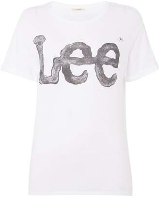 Lee Logo Tee In White