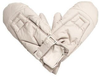 Helmut Lang Helmut Lang Grey Nylon Gloves w/ Tags