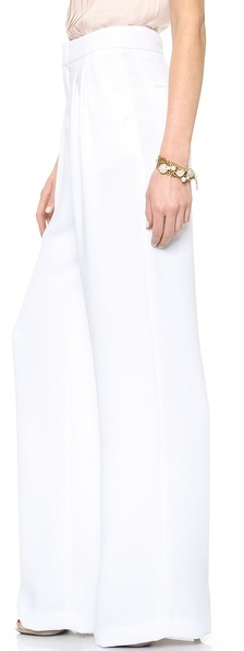 Alice + Olivia High Waisted Double Pleat Pants