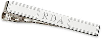 Asstd National Brand Personalized Sterling Silver Tie Bar