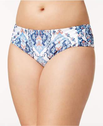 Becca Etc Plus Size Naples Bikini Bottoms Women's Swimsuit
