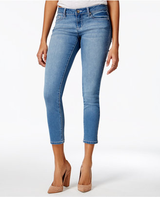 Project Indigo Juniors' Embellished Skinny Ankle Jeans $49 thestylecure.com