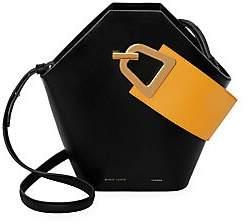 Danse Lente Women's Johnny Geometric Leather Bucket Bag