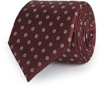 Reiss Franco Patterned Silk Tie