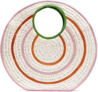 SOPHIE ANDERSON Paloma circle raffia bag