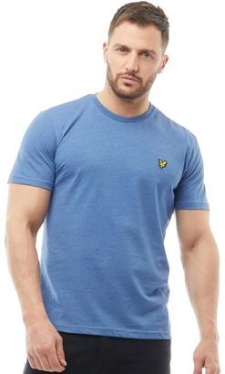 Lyle & Scott Vintage Mens Crew Neck T-Shirt Indigo Marl