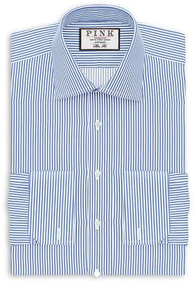 Thomas Pink Grant Stripe French Cuff Dress Shirt - Bloomingdale's Regular Fit