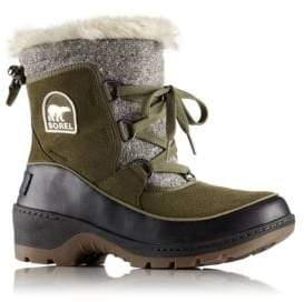 Sorel Tivoli Faux Fur Suede Winter Boots