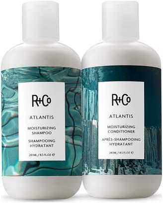 R+CO Atlantis Moisturizing Shampoo + Conditioner Set