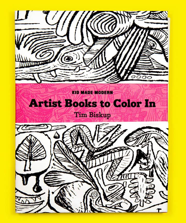 Artist Books to Color In: Tim Biskup
