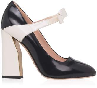 Gucci Mary Jane Bow Heels