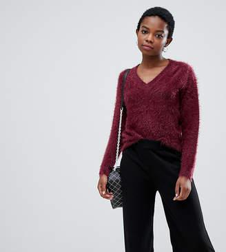 Noisy May Petite fluffy knit jumper