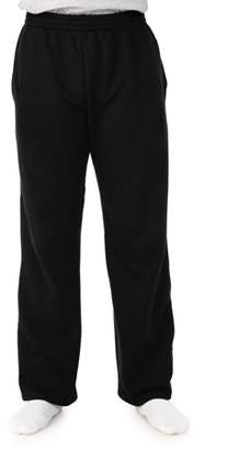 Fruit of the Loom Big Men's Sofspun Open Bottom Fleece Sweatpant