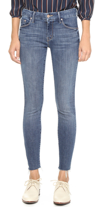 MOTHER The Looker Ankle Fray Jeans $205 thestylecure.com