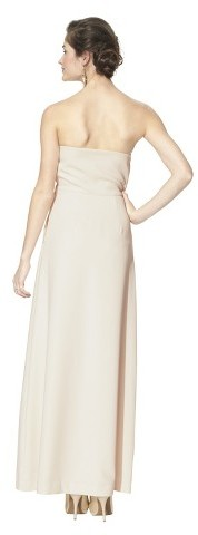 TEVOLIO™ Women's Soft Satin Strapless Bridal Gown - Assorted Colors