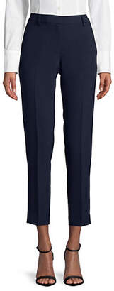 Donna Karan Crepe Fixed Waist Skinny Pants