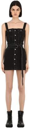 Ksubi Deejay Cotton Denim Dress