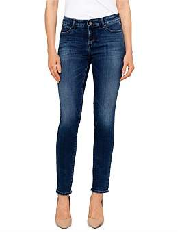 Armani Exchange Skinny Mid Rise Jean