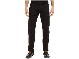 The Unbranded Brand Tapered in Black Selvedge Chino