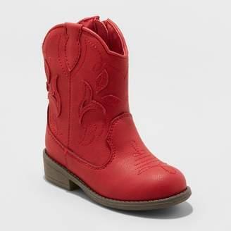 Cat & Jack Toddler Girls' Arizona Cowboy Boots