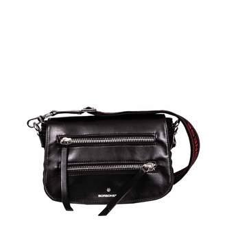 Borbonese Leather Shoulder Bag