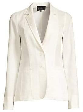 Lafayette 148 New York Women's Vangie Linen-Blend Blazer - Size 0