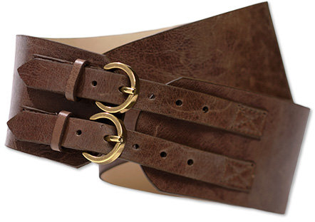 Double-buckle belt