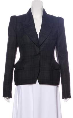 Tom Ford Wool Plaid Blazer