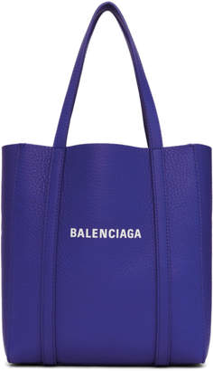 Balenciaga Blue XXS Everyday Tote