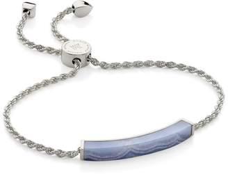 Monica Vinader Linear Lace Agate Chain Bracelet