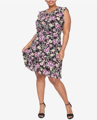 Rachel Roy Trendy Plus Size Lora A-Line Dress