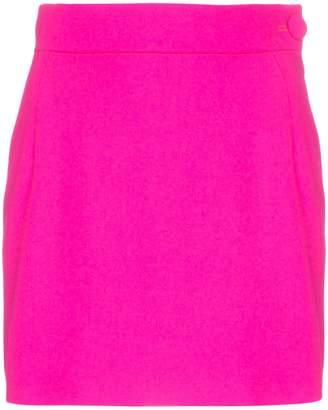 ATTICO high-waisted mini-skirt