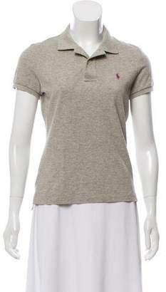 Ralph Lauren Collared Short Sleeve Top
