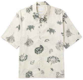 Norse Projects Carsten Printed Cotton-Voile Shirt
