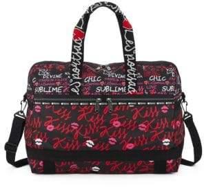 Le Sport Sac Large Amber Weekender Tote Bag