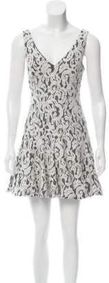 Jay Godfrey Lace Mini Dress