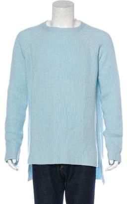 Baja East Cashmere Rib Knit Sweater
