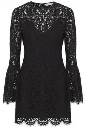 Rachel Zoe Scalloped Corded Lace Mini Dress