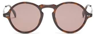 Givenchy Round Acetate Sunglasses - Mens - Tortoiseshell