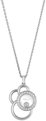 Chopard Happy Dreams Semi Pavé Diamond Pendant Necklace