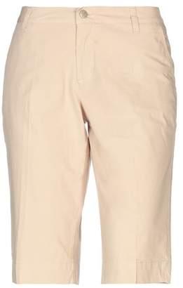 Jaggy Bermuda shorts