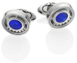 Tateossian Lapis Rolling Ball Cuff Links