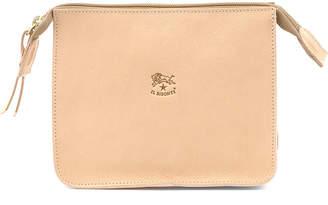 Il Bisonte Leather Cosmetics Case, Beige
