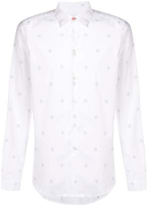 Paul Smith slim-fit sun doodle shirt