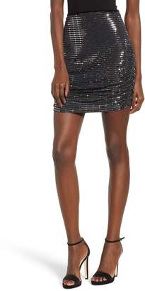 Endless Rose Sequin Pencil Skirt